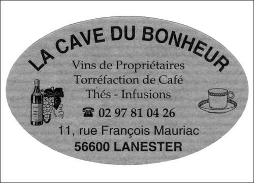 Caviste et café à Lanester La cave du bonheur