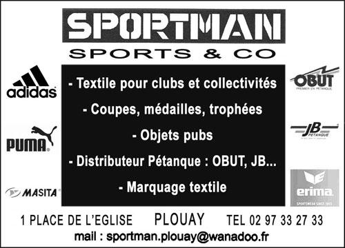 Sportman Plouay sport et trophées