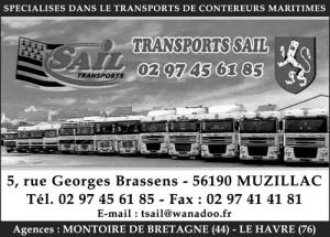Transport Sail pour le transport de conteneurs maritimes