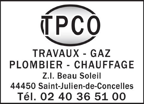 TPCO Travaux Gaz Plombier Chauffage