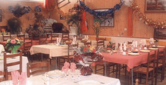 Restaurant du traiteur le chene antan de Berne